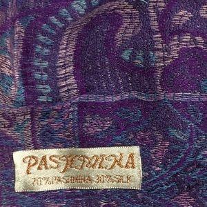 B. New Beautiful Ombré Pashmina &Silk Wrap Scarf